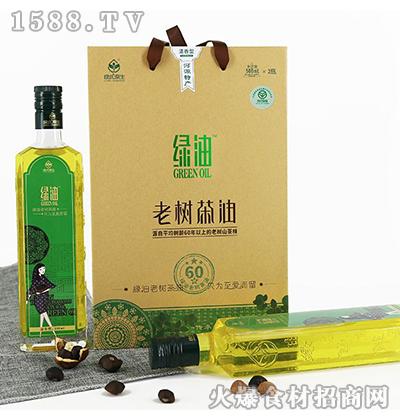 绿优原生老树山茶油500ML*2清香型