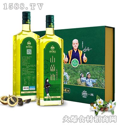 绿优原生老树山茶油1000ML*2清香型