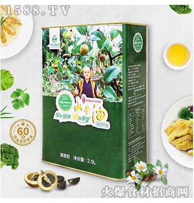 绿优原生老树山茶油2.5L清香型