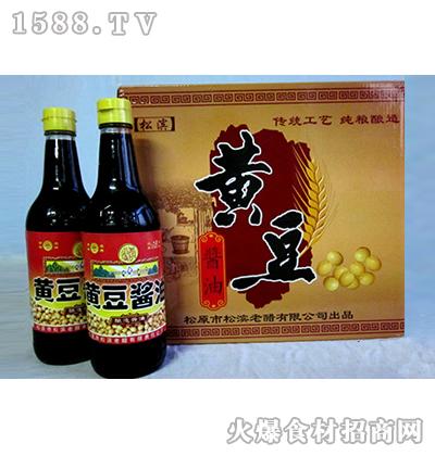 松滨黄豆酱油500ml