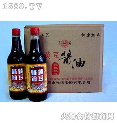 松滨黄豆酱油500ml-新型