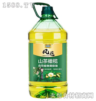 皇家风范山茶橄榄食用植物调和油5L