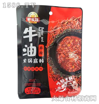 鲜乐冠牛油麻辣火锅底料160克