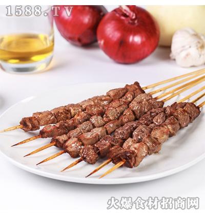 希波-麻辣牛肉风味串