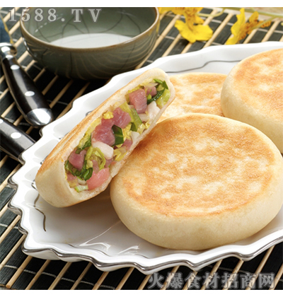 希波白菜猪肉馅希波饼