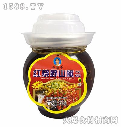 金婆姨红烧野山椒豆豉850g