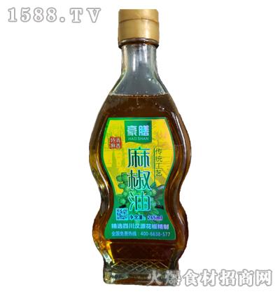 豪膳麻椒油265ml