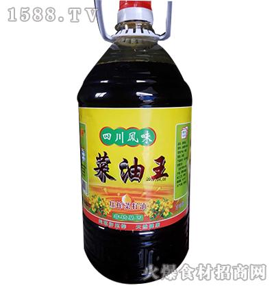 豪膳四川风味菜籽油