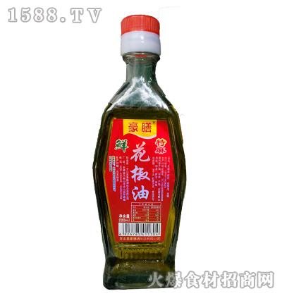 豪膳鲜花椒油220ml