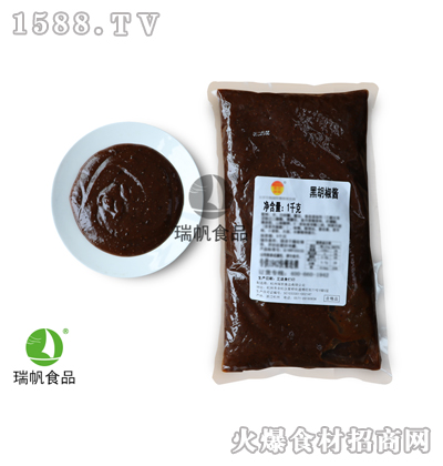 瑞帆亚搏官方app下载黑胡椒酱1千克