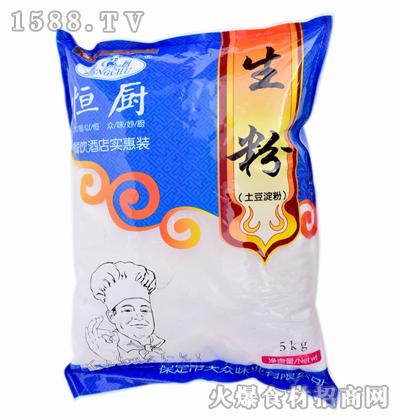 恒厨生粉(土豆淀粉)5kg