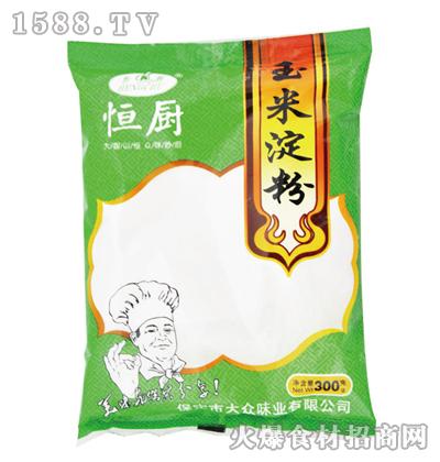 恒厨玉米淀粉300克