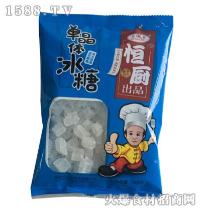 恒厨单晶体冰糖400克