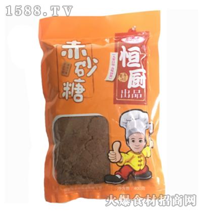 恒厨赤砂糖-400克