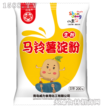 山花马铃薯淀粉200g