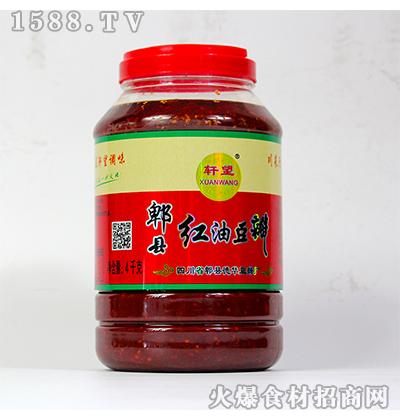 轩望-郫县红油豆瓣4kg