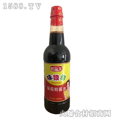 鲜溢美味极鲜酱油800ml