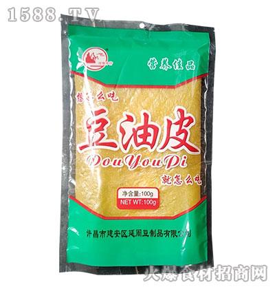 河街中行豆油皮100g
