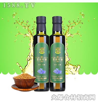 五谷城田园亚麻籽油250ml