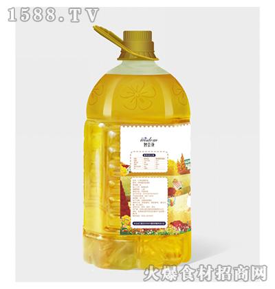 智荟花冷榨亚麻籽油5L