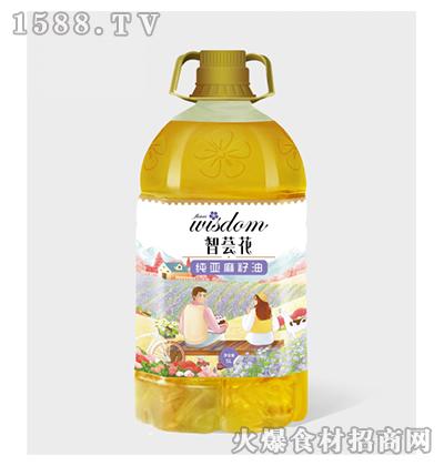 智荟花纯亚麻籽油5L