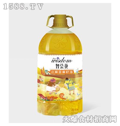 智荟花小榨亚麻籽油5L
