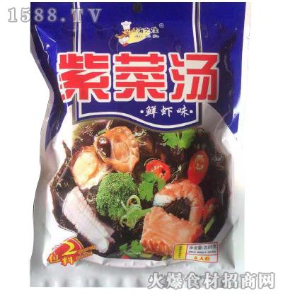 海之佳-鲜虾味紫菜汤68g