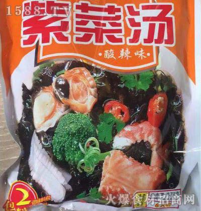 海之佳-酸辣味紫菜汤72g