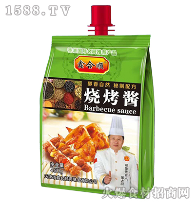 鑫合顺烧烤酱450g