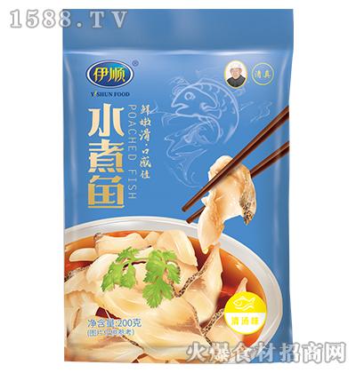 伊顺水煮鱼调味料200g(清汤味)