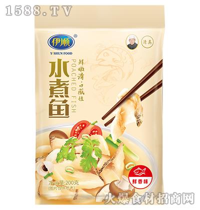 伊顺水煮鱼调味料200g(鲜香味)