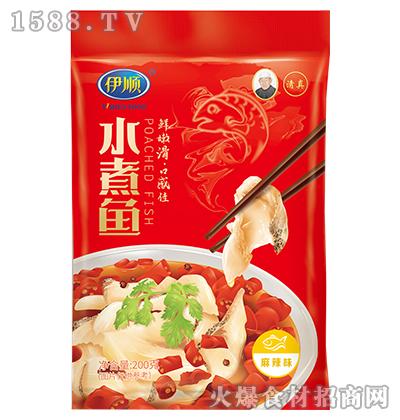 伊顺水煮鱼调味料200g(麻辣味)