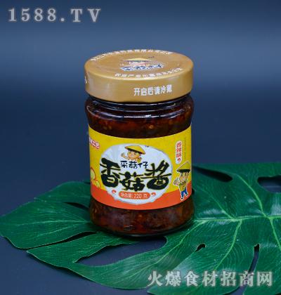 三木采菇仔-香辣味香菇酱220g