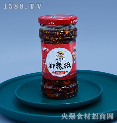 三木采菇仔-油辣椒280g
