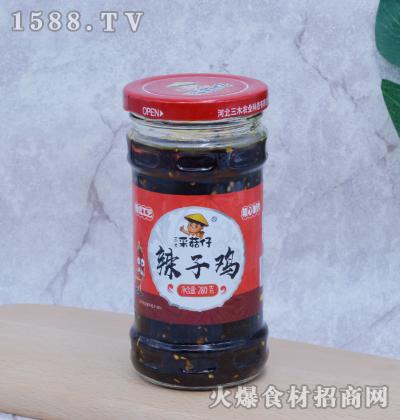 三木采菇仔-辣子鸡280g