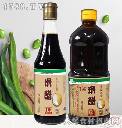 绿业春古法工艺米醋500ml、1L