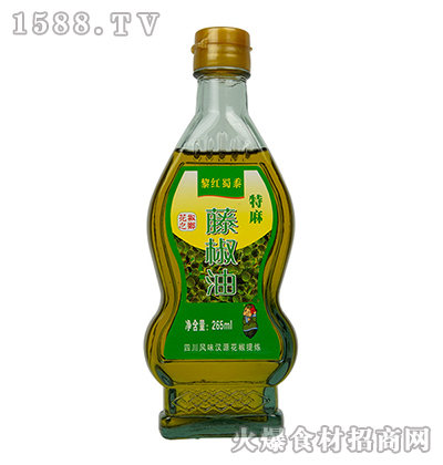 黎红蜀黍藤椒油265ml