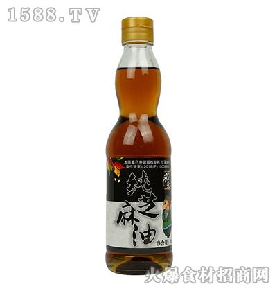 黎红蜀黍纯芝麻油380ml