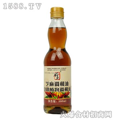 茄禾-芝麻调和油380ml