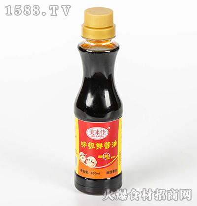 美来佳味极鲜酱油200ml