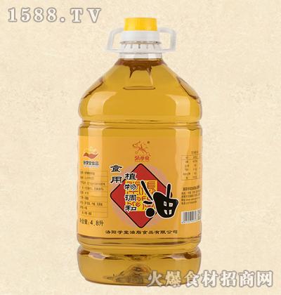 张学堂食用植物调和油4.8L