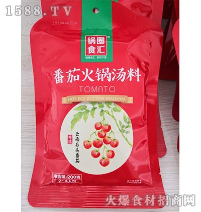 锅圈食汇番茄火锅汤料200克