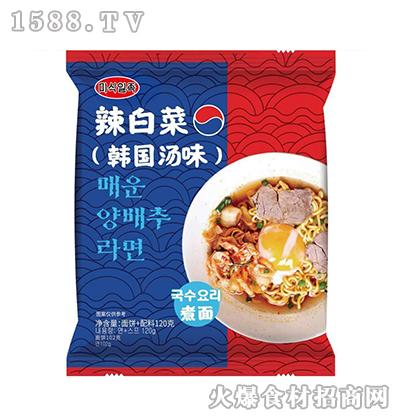 辣白菜煮面(韩国汤味)120g