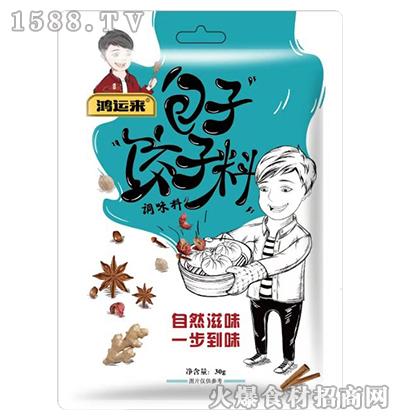 鸿运来包子饺子料调味料30g