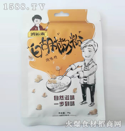 鸿运来-白胡椒粉调味料30g