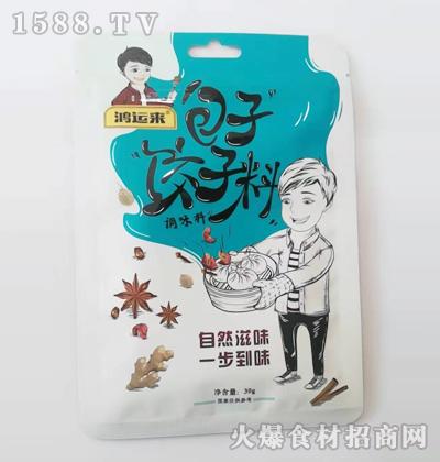 鸿运来-包子饺子料调味料30g
