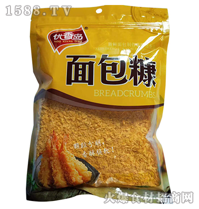 优香岛面包糠200g