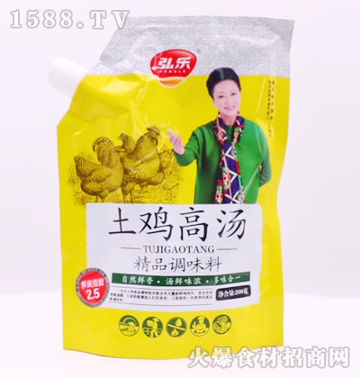 弘乐土鸡高汤精品调味料200克