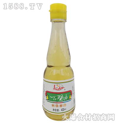 家家缘酱油鲜味酱汁400ml