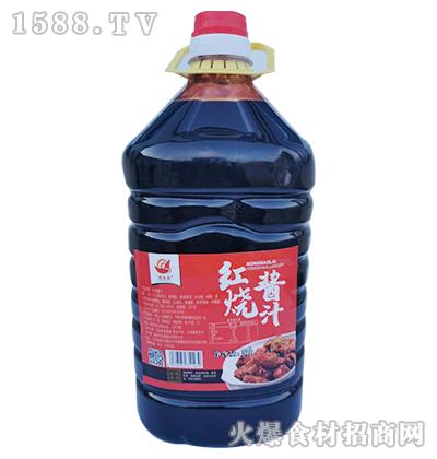 众康红烧酱汁5L